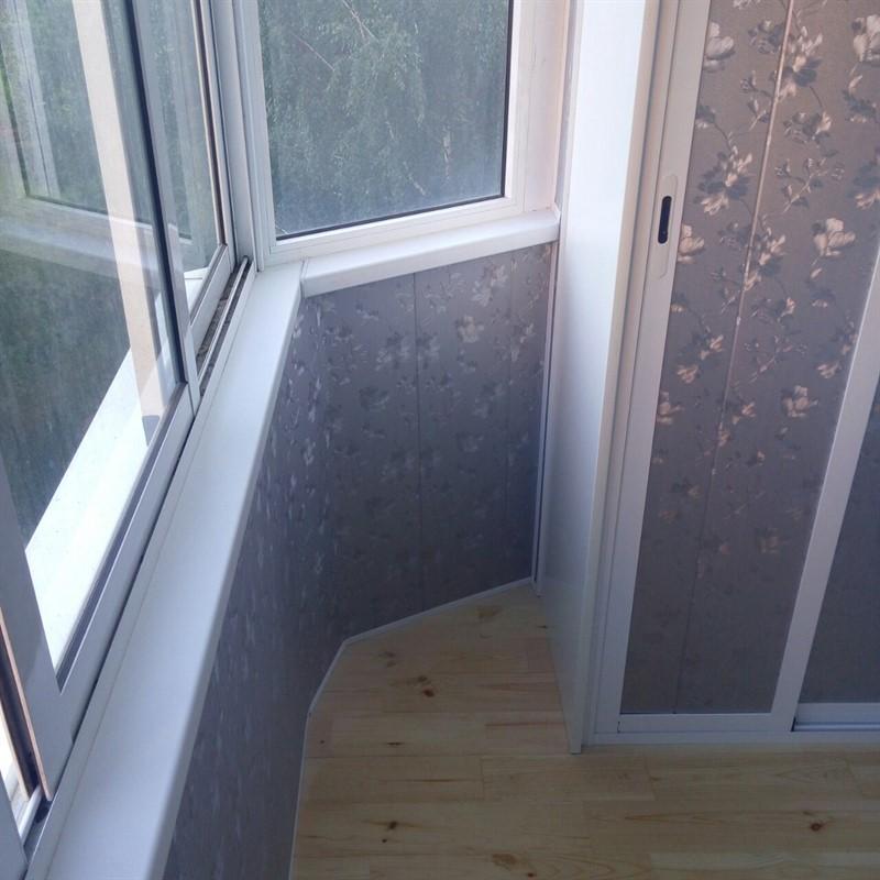 Как сделать обшивку балкона из пластиковых панелей, пошаговая инструкция