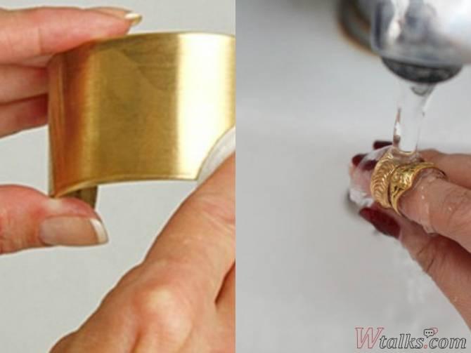 Как почистить золото?