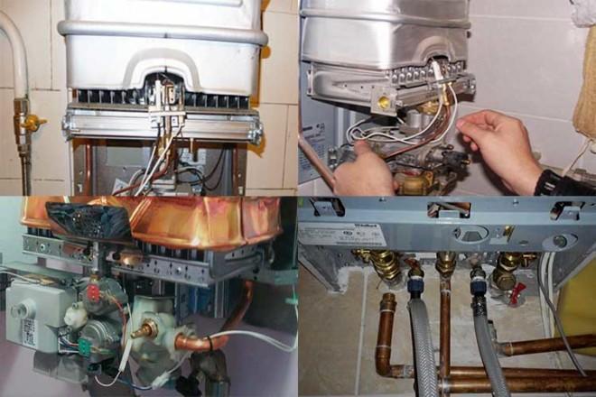 Как почистить газовую колонку bosch своими руками - последовательность действий