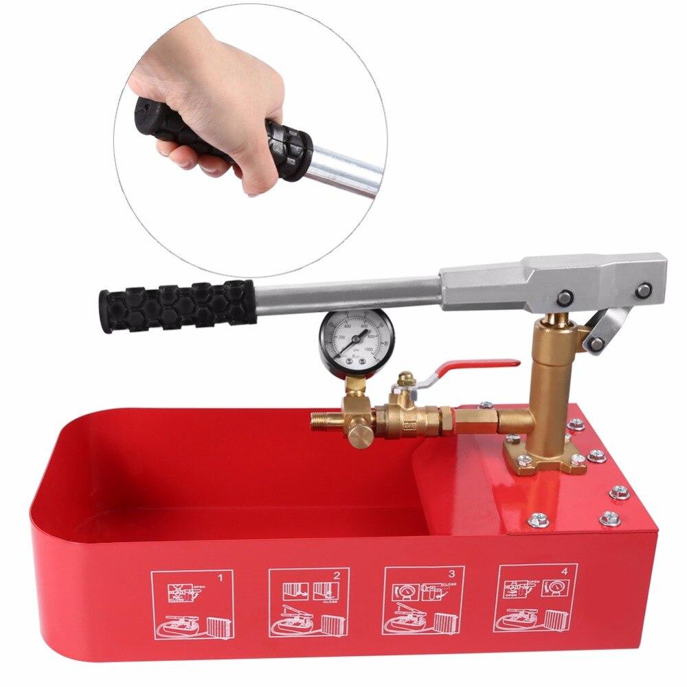 Насосы для опрессовки и промывочные аппараты для системы отопления