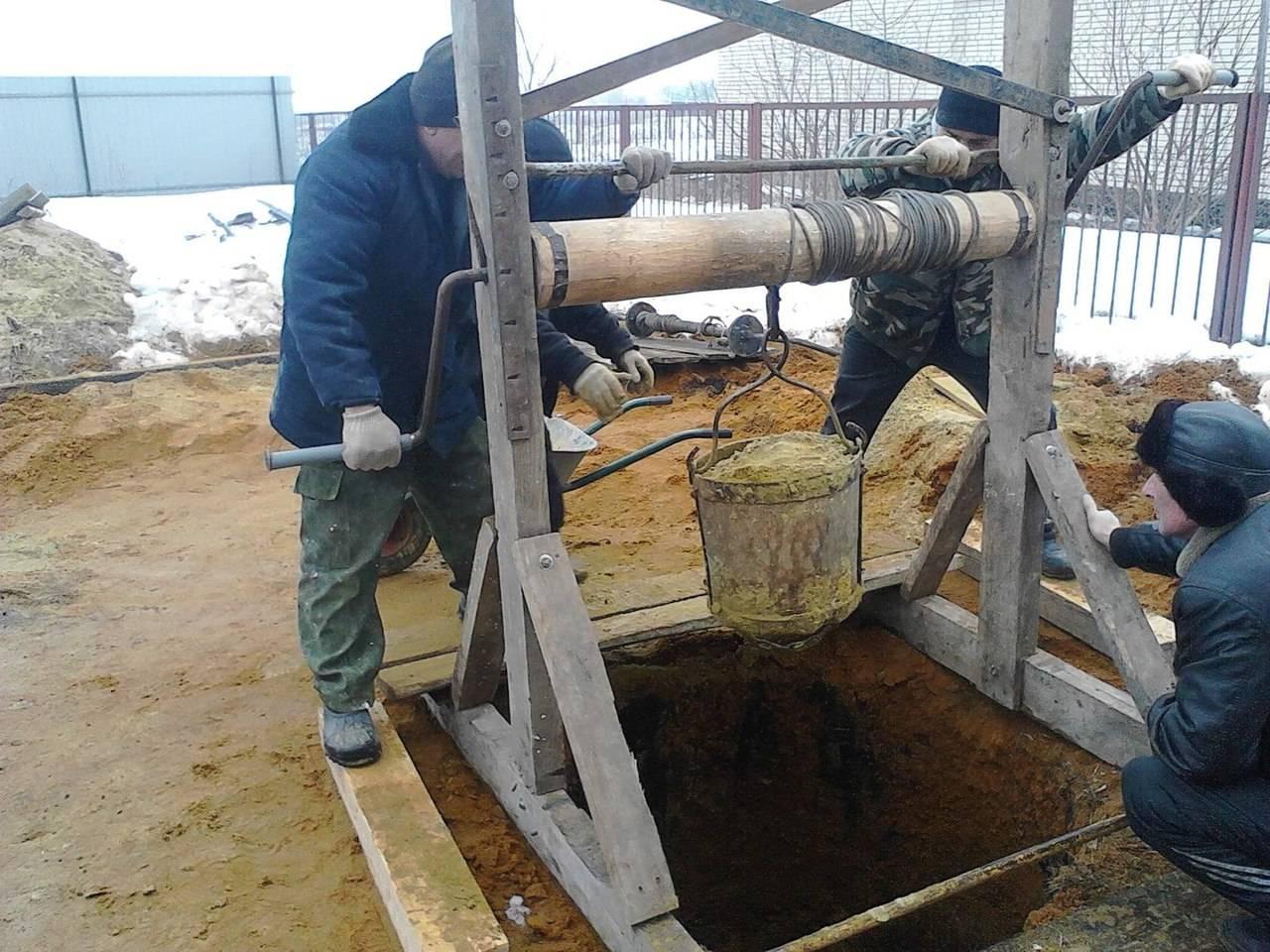 Колодец своими руками на даче: как выкопать, гидроизоляция, очистка