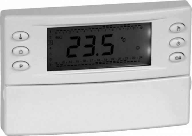 Комнатный термостат (терморегулятор) для котла отопления