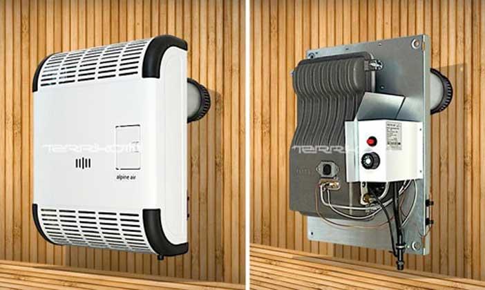 Газовый конвектор на сжиженном (баллонном) и природном газе
