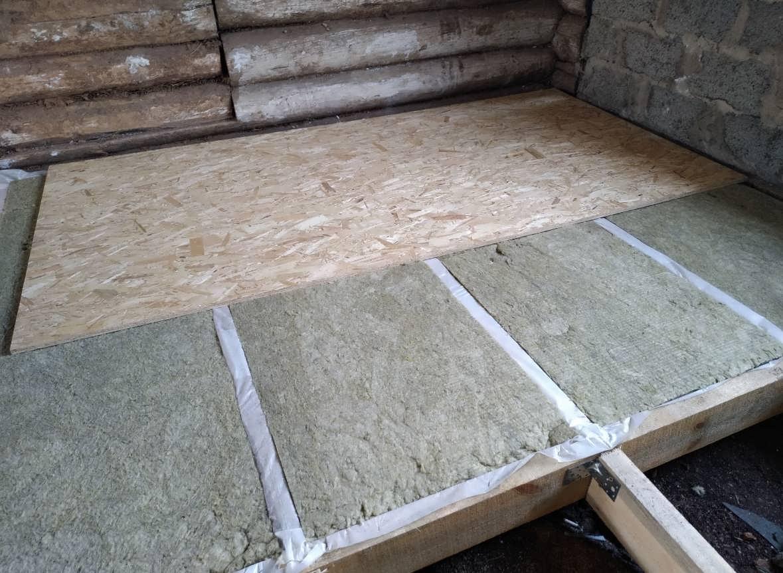 Утепление пола в деревянном доме - наша схема и технология работы