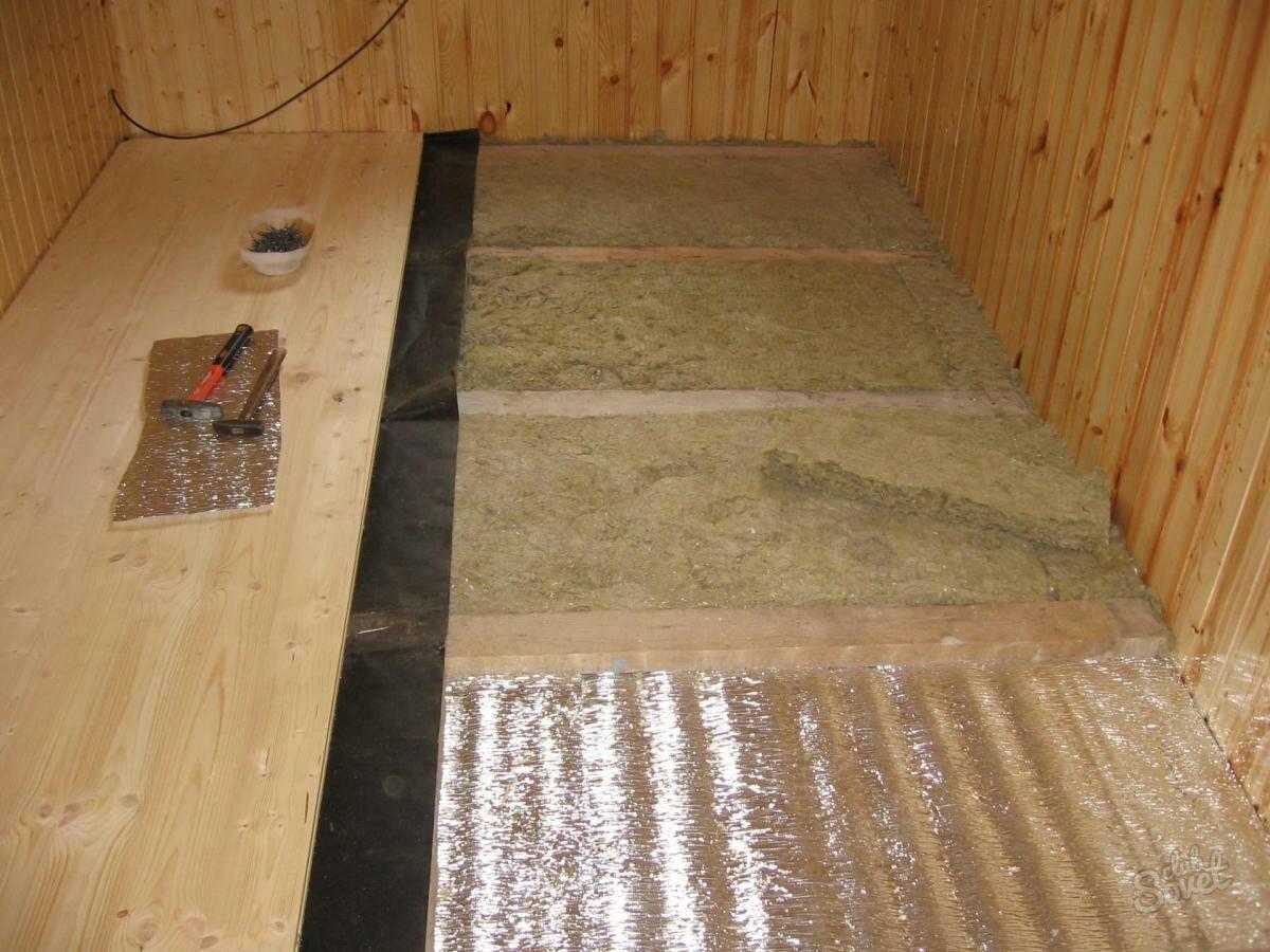 Как утеплить пол на даче в деревянном частном доме: пошаговые инструкции