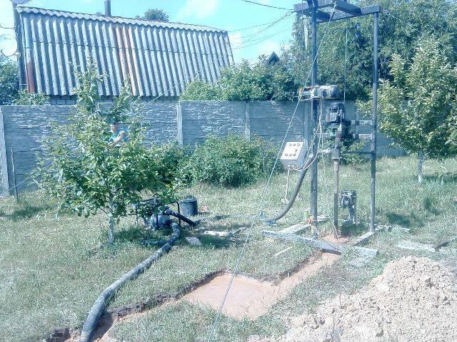 Технология бурения на воду – скважина своими руками