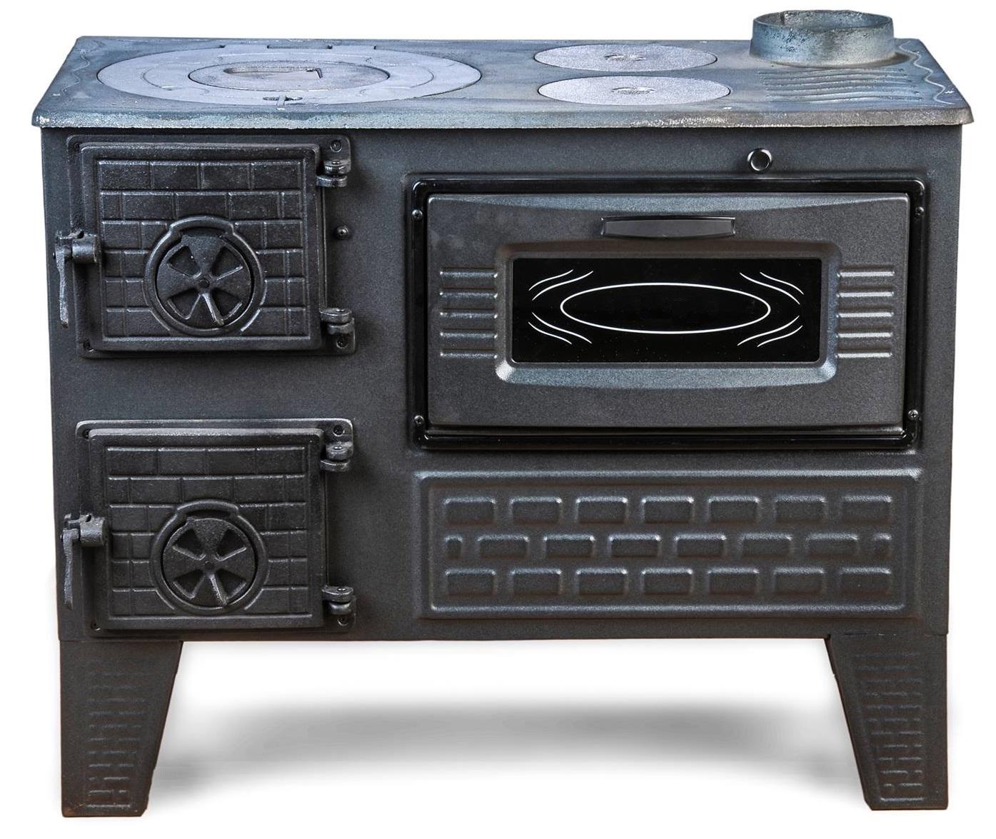 Дровяная чугунная печь-буржуйка для дачи: какую лучше купить