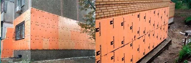 Крепление пеноплекса к бетону – все об утеплении и энергоэффективности