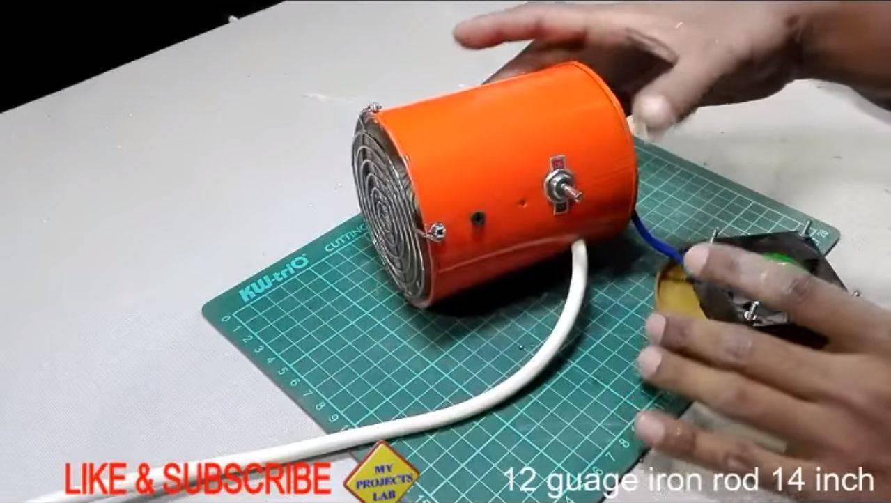 Как сделать обогреватель своими руками: инструктаж по изготовлению самодельного прибора