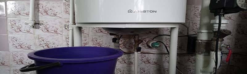 Как быстро и полностью и слить воду из бойлера и включить горячую воду