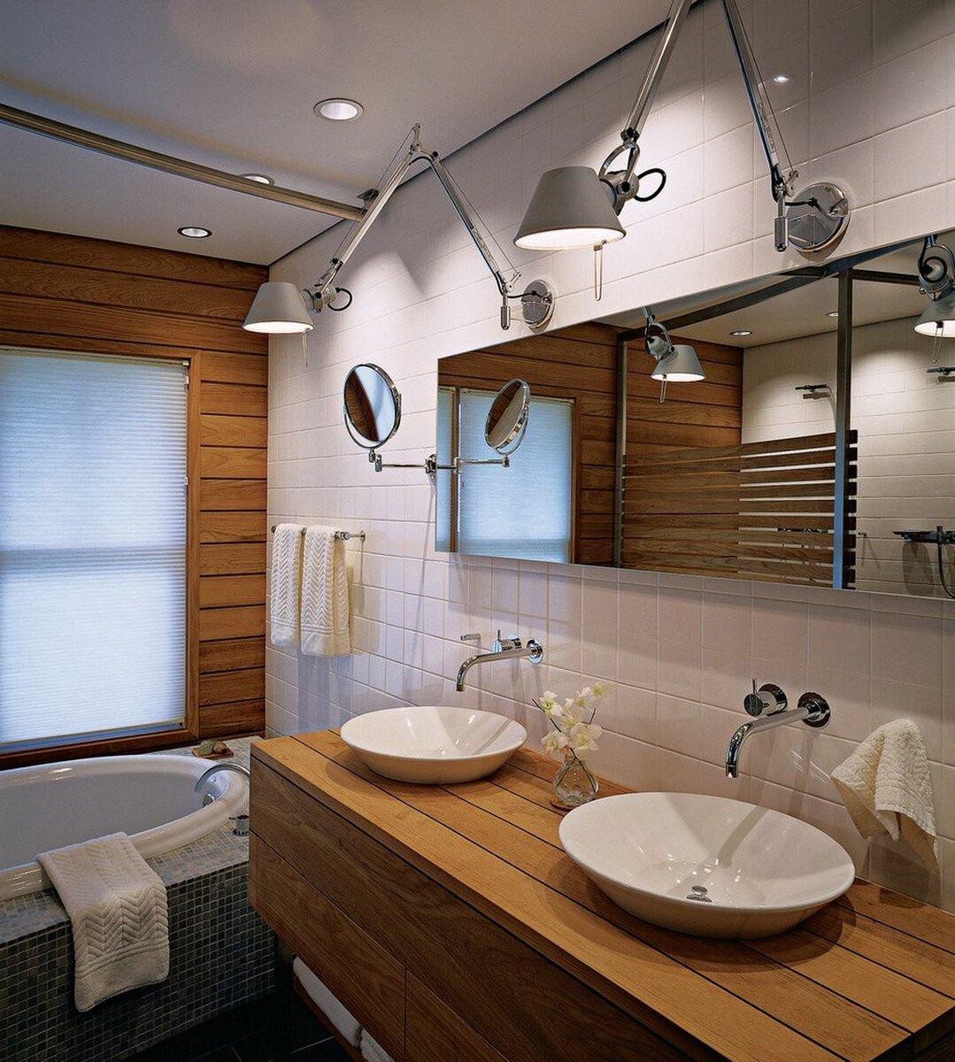 Как организовать светодиодное освещение в ванной
