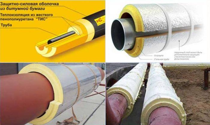 Теплоизоляция для отопительных труб и утеплители для обмотки