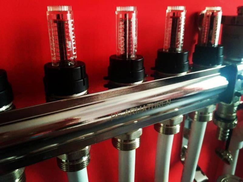 Распределительная гребенка системы отопления: принцип работы, установка гребенки для отопления своими руками, детали на фото и видео