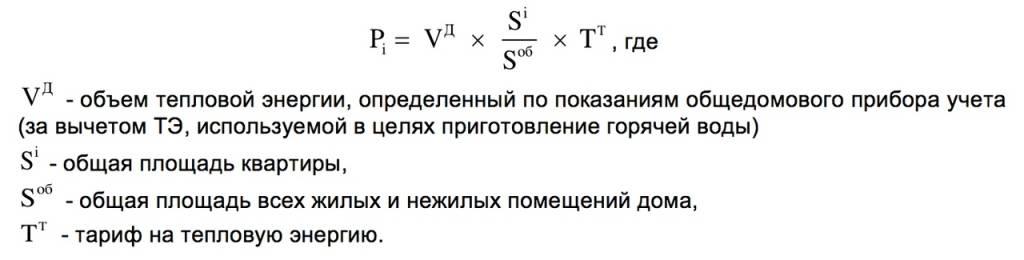 Гвс тепловая энергия - что это в квитанции, из каких компонентов складывается, по какой формуле рассчитать самостоятельно?