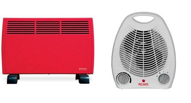 Что лучше инфракрасный обогреватель или тепловентилятор: плюсы и минусы устройств