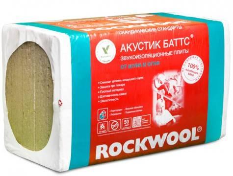 Сравнительные характеристики rockwool акустик баттс и тл акустик