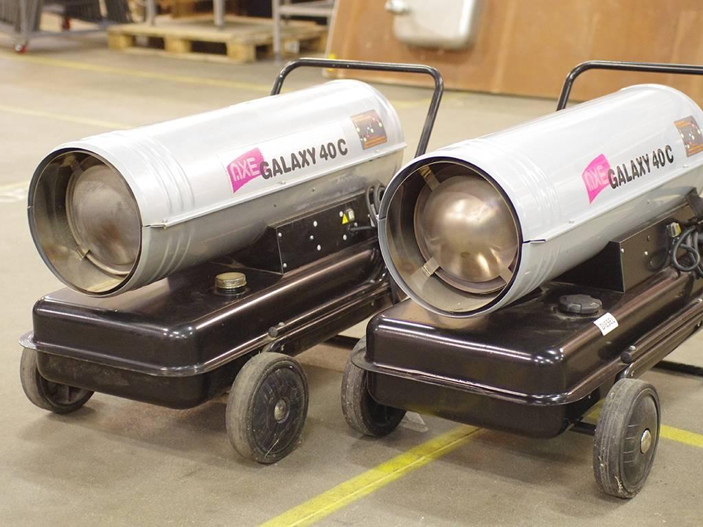 Дизельные тепловые пушки промышленные прямого и непрямого нагрева