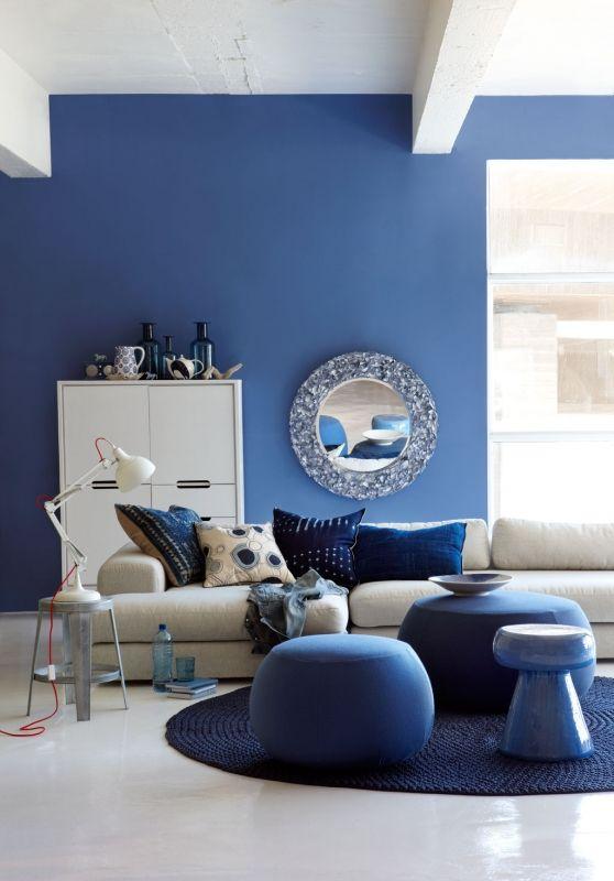Голубой цвет в интерьере: сочетания, идеи дизайна, 67 фото
