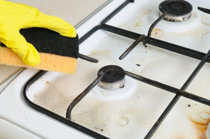 Чем отмыть жир на кухне: простые и эффективные способы чистки вытяжки, шкафа, плитки