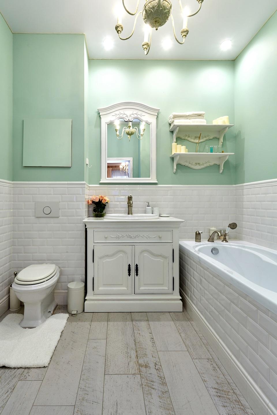 Ванная в стиле прованс 2017 – 53 фото и идеи дизайна интерьера ванной   the architect