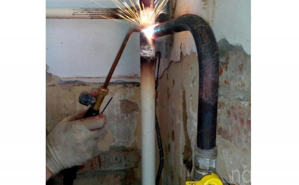 Согласование переноса газовой трубы в квартире