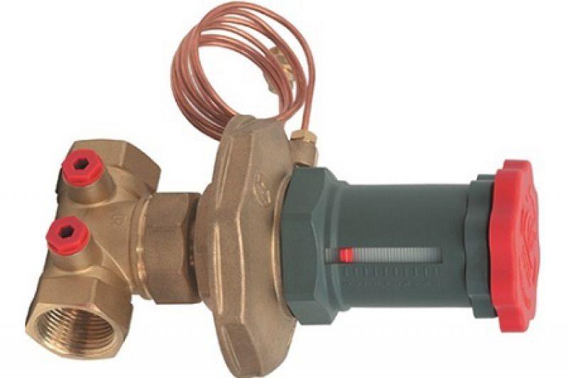 Балансировочный вентиль (клапан) для системы отопления