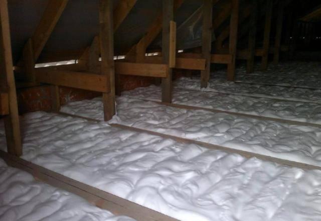 Утепление домов и стен пеноизолом - отзывы, цена и видео