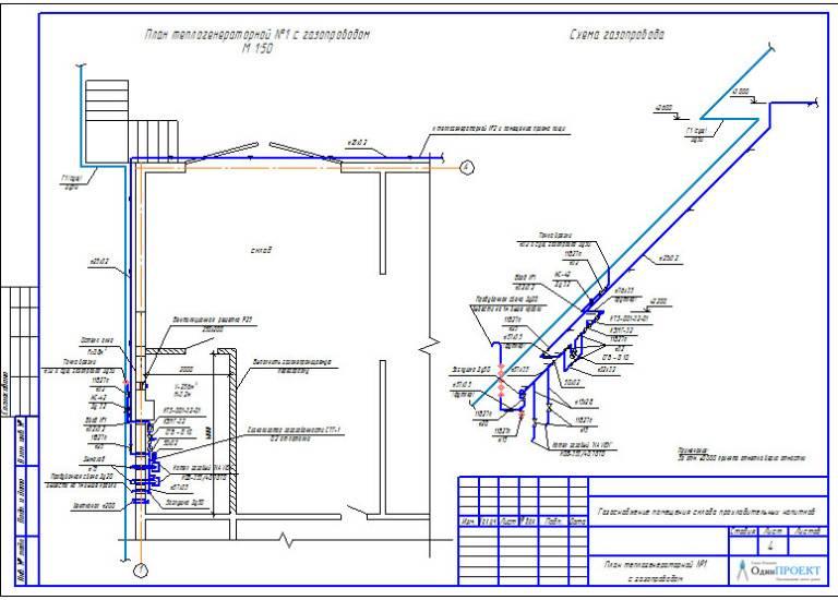Проектирование газоснабжения