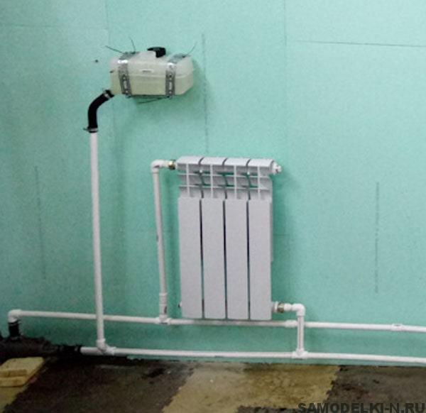 Делаем водяное отопление в гараже своими руками