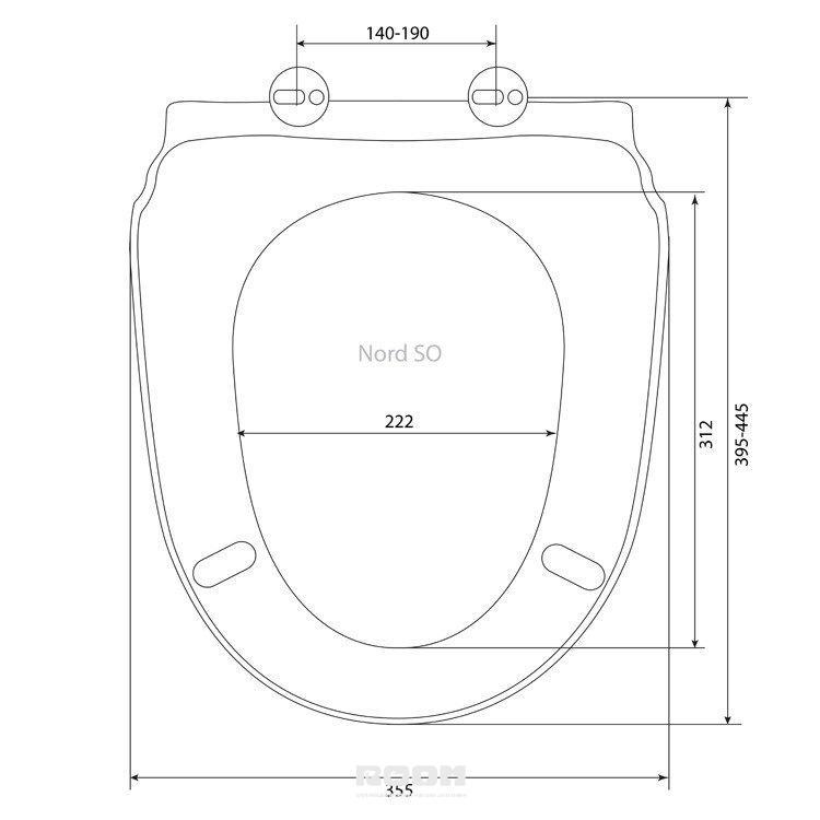 Сиденье для унитаза: подбор по размеру, виду и материалу