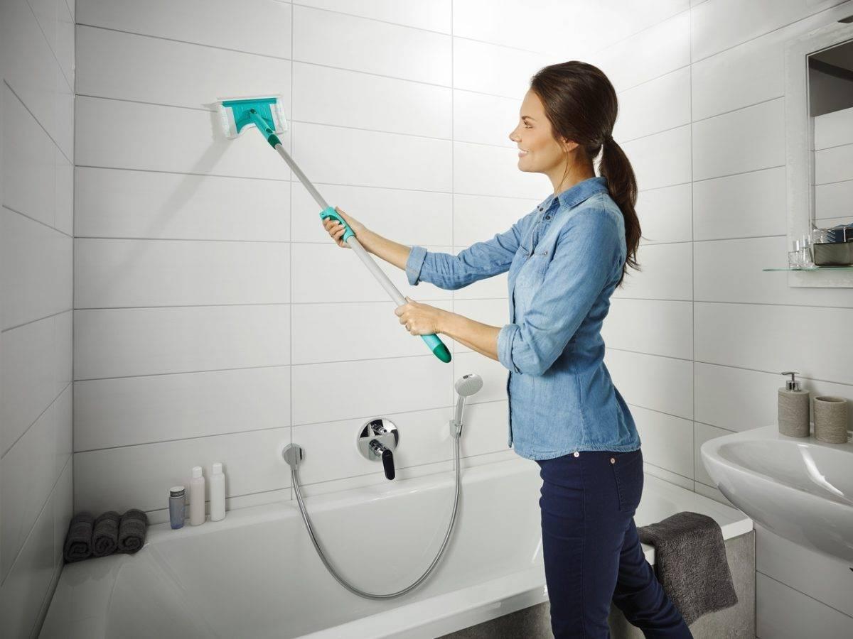 Как и чем мыть кафель в ванной проще всего