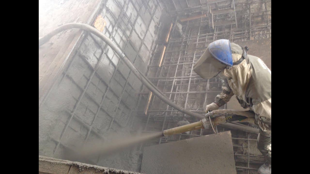 Торкретирование бетона — технология и способы