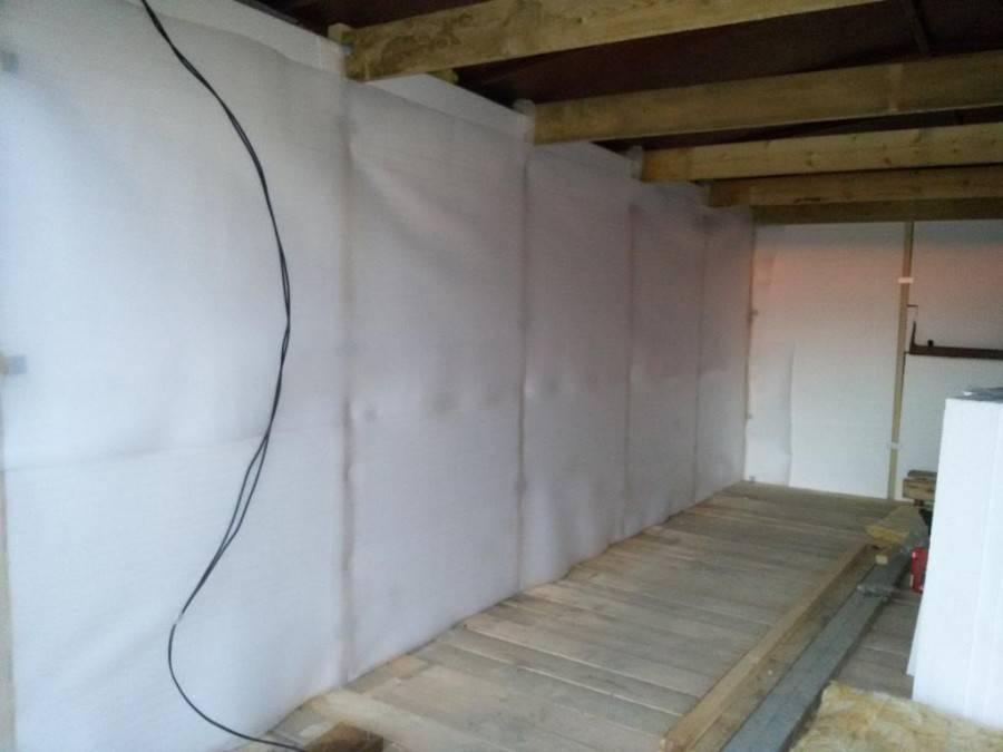 Утепление крыши гаража снаружи и изнутри своими руками: как и чем лучше