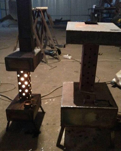 Печь на отработанном масле (отработке) своими руками - видео и фото