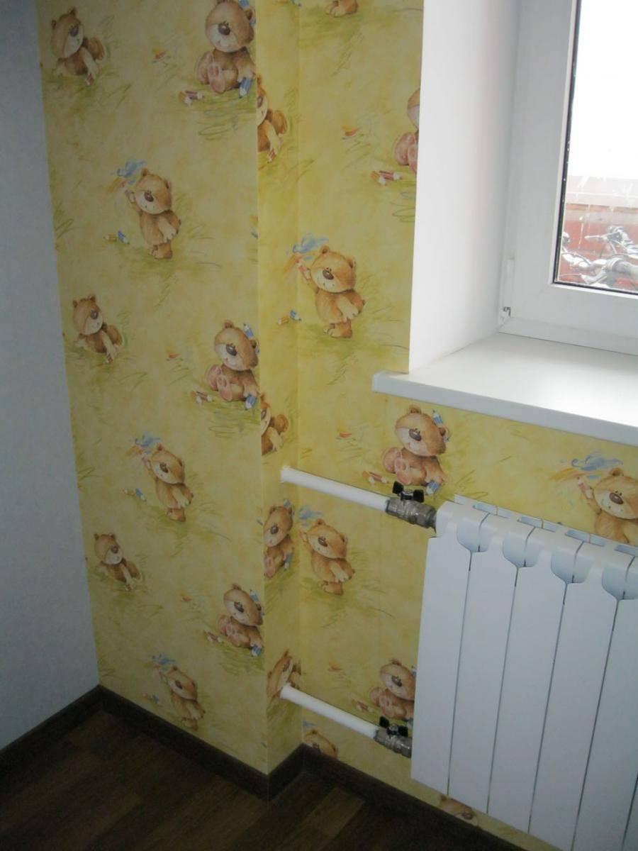 Как задекорировать трубу отопления в комнате: решения и фото