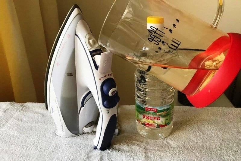 Как почистить подошву утюга? – от нагара в домашних условиях