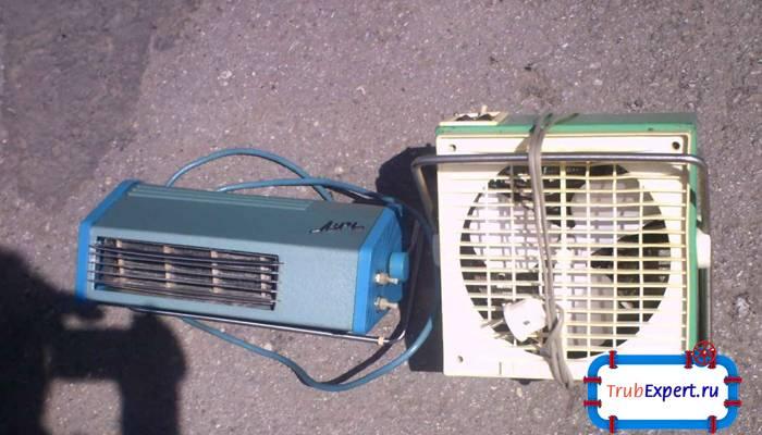 Делаем водяной или электрический тепловентилятор своими руками: инструкция