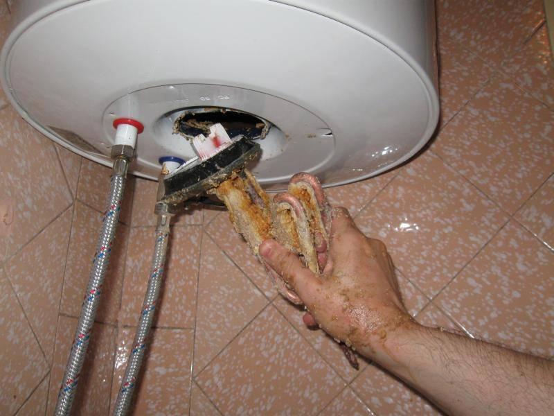 Чистка водонагревателя: промывка бойлера аристон в домашних условиях без разборки