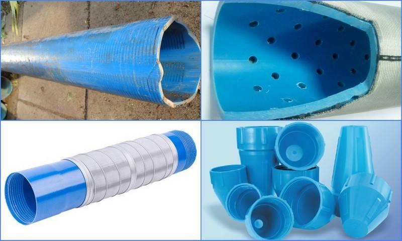 Какую трубу использовать для скважины под воду