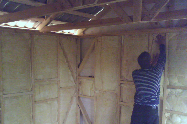 Как утеплить предбанник - строим баню или сауну