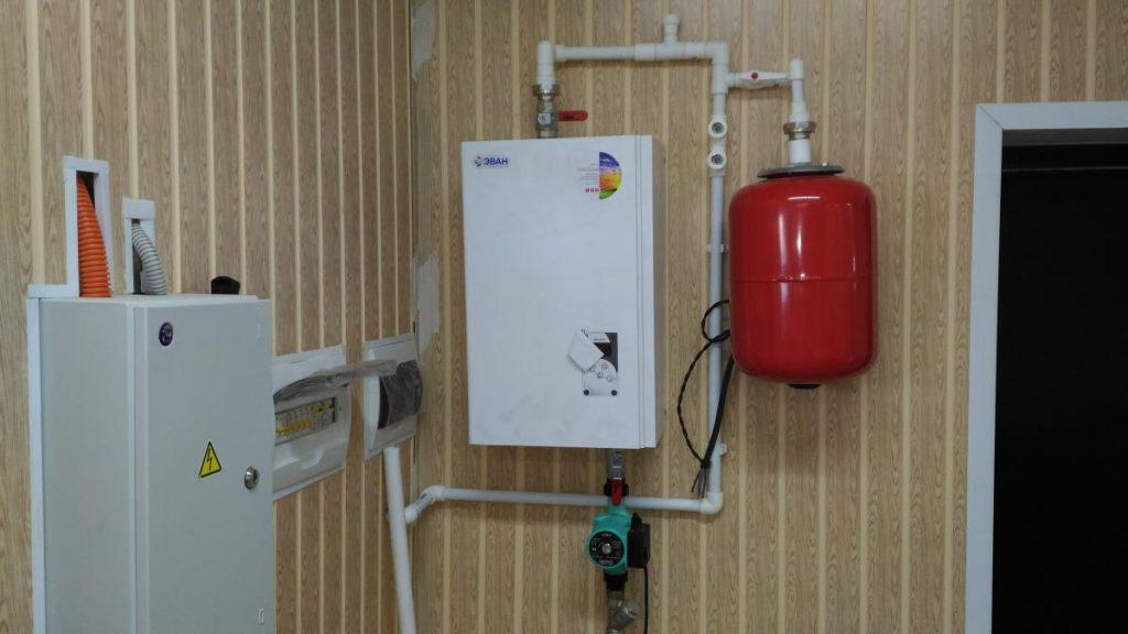 Электрокотлы для отопления частного дома, 220в, мощность и типы котлов