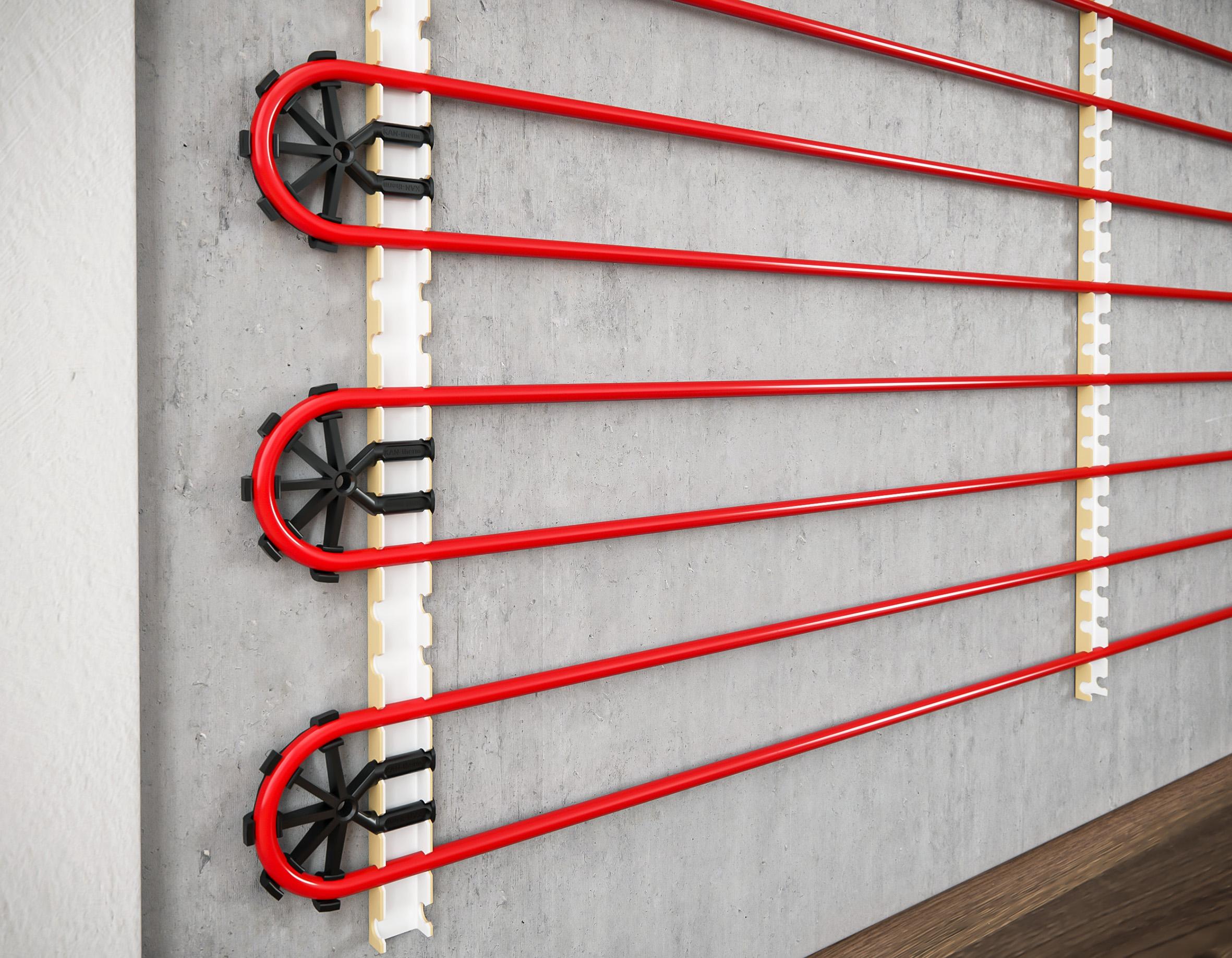 Теплый пол на стену: особенности и виды отопительной системы. плюсы и минусы теплых стен