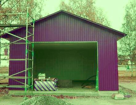 Утепление гаража: как утеплить изнутри своими руками и сделать теплым потолок, утепляем гараж из профнастила минватой