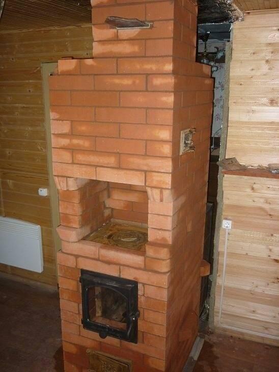 Обзор небольших компактных печей для дачи на дровах