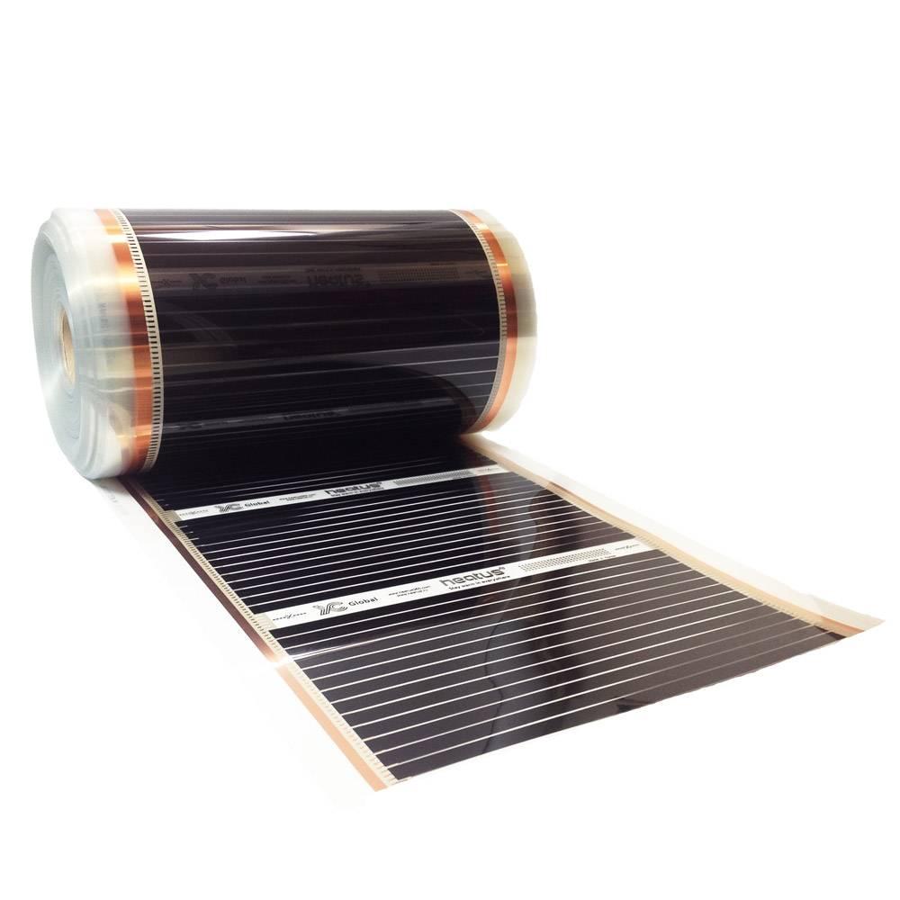 Инфракрасный плёночный обогреватель для дома: характеристика изделия