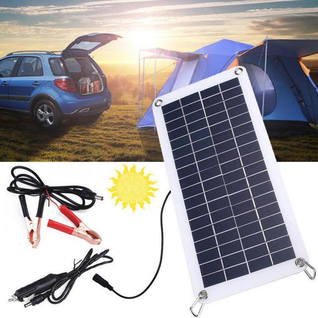 Солнечная панель для зарядки автомобильного аккумулятора