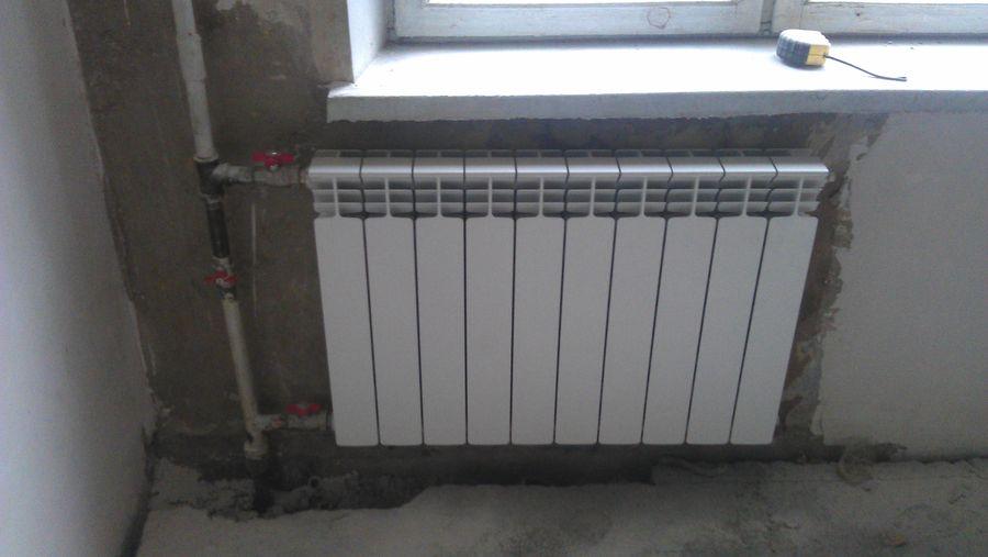 Установка биметаллических радиаторов отопления своими руками