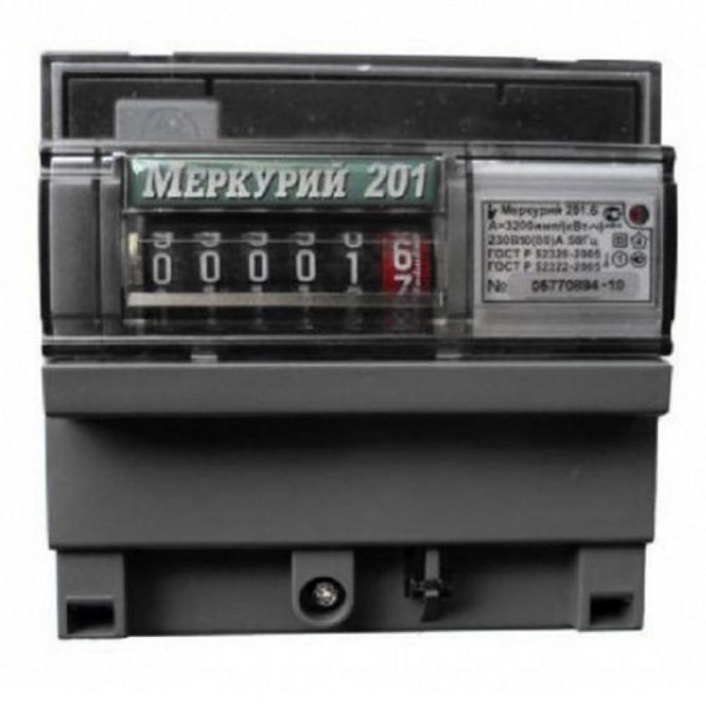 Однофазный счётчик электроэнергии – меркурий 201