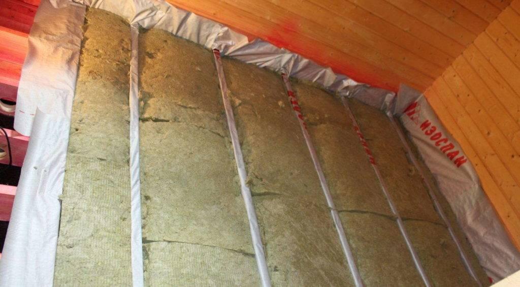 Нужна ли пароизоляция при утеплении минватой кирпичной стены