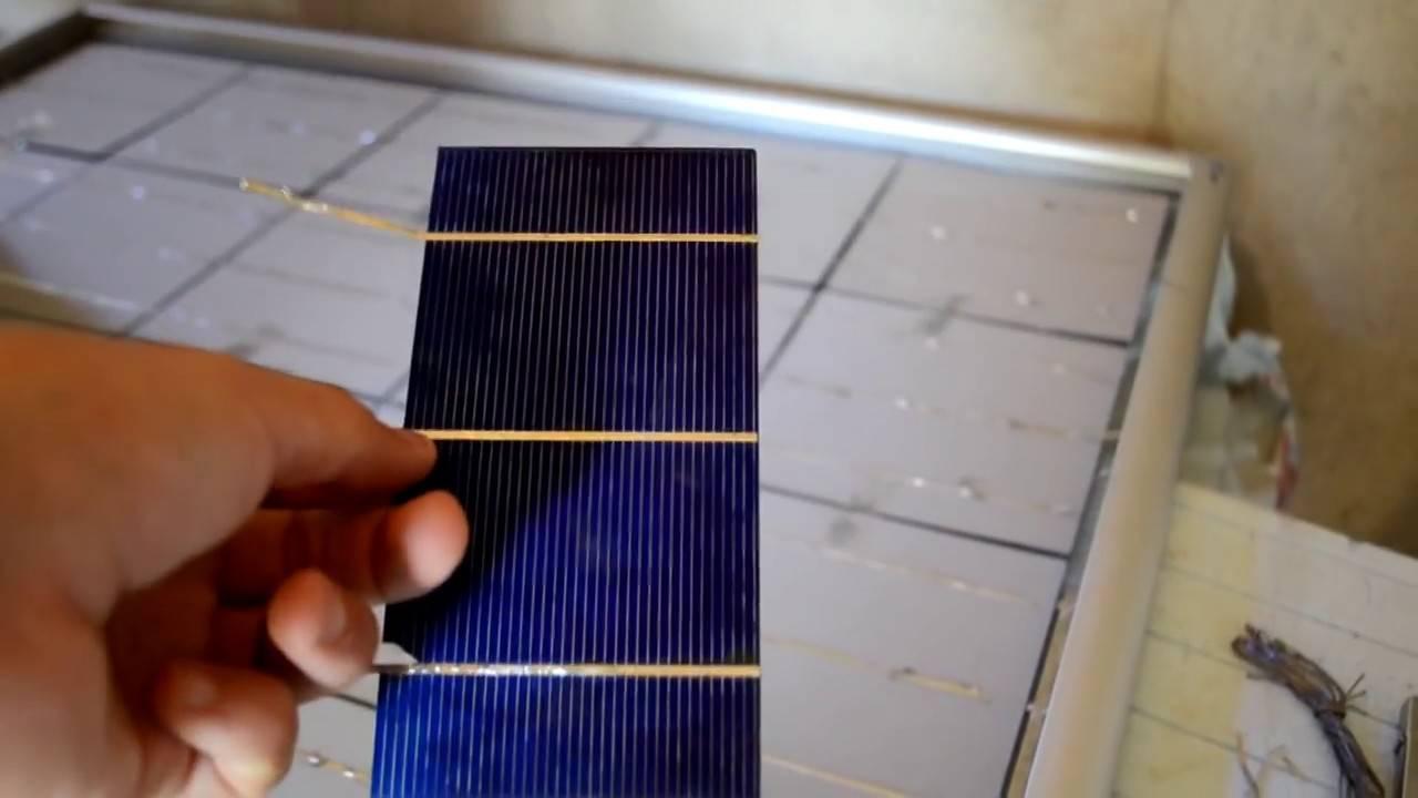 Солнечная панель для дома, изготовленная своими руками